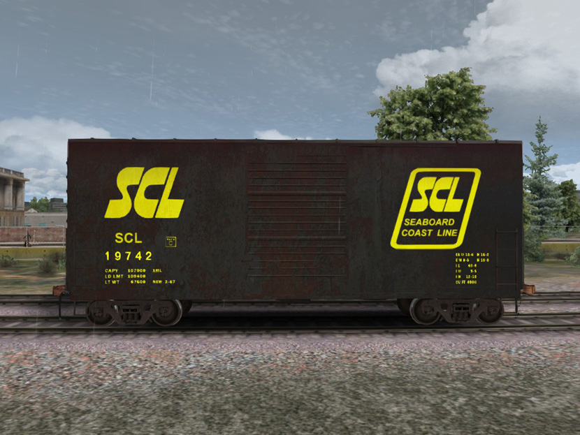 SCL 40ft HiCube Box