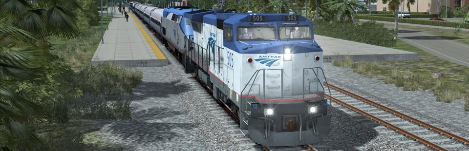 "DTG""s Amtrak GE Dash8-32BWH"