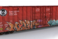 NSC 60ft High Cube Box car Canadian Pacific Railworks (Freeware)