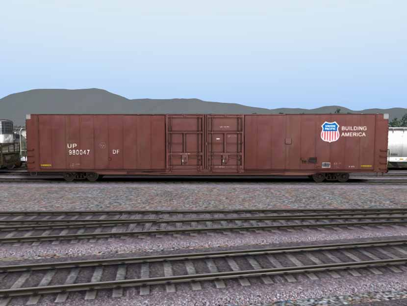 UP Autoparts Boxcar